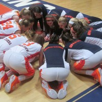 Girls BBall Huddle