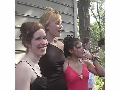 Leslie Sherman Prom by Kim Hogan