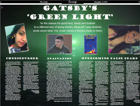 Gatsby's 'Green Light'