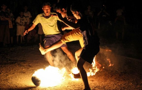 The OCHO: Soccer with a fiery twist