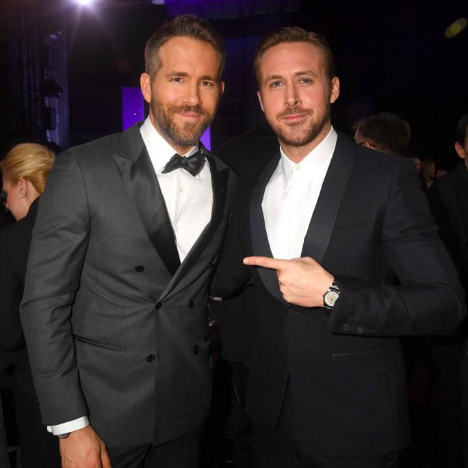 Ryan+Reynolds%2C+winner+of+the+Best+Actor+in+a+Comedy+Award+and+the+Entertainer+of+the+Year+Award%2C+and+Ryan+Gosling%2C+who+was+nominated+for+many+Best+Actor+Awards%2C+pose+for+a+photo+at+the+Critics%E2%80%99+Choice+Awards.