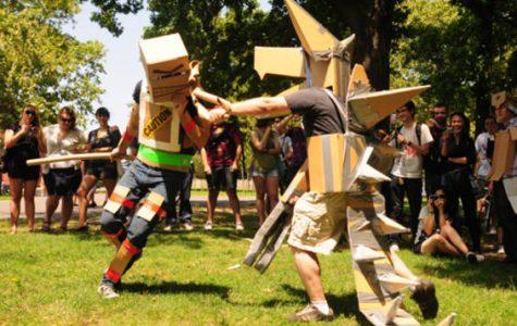 The Ocho: Cardboard Tube Dueling