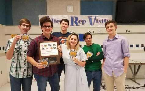 Scholastic Bowl team wins conference championship