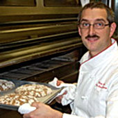 The Swiss Bakery, which is owned by Reto (pictured) and Laurie Weber,has locations in Burke and Springfield. It sells baked goods, as well as otherlight foods that are perfect for gatherings with friends.