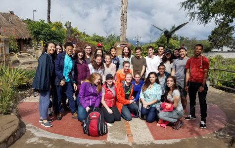 FCPS students reach out to others during Spring Break in Ecuador