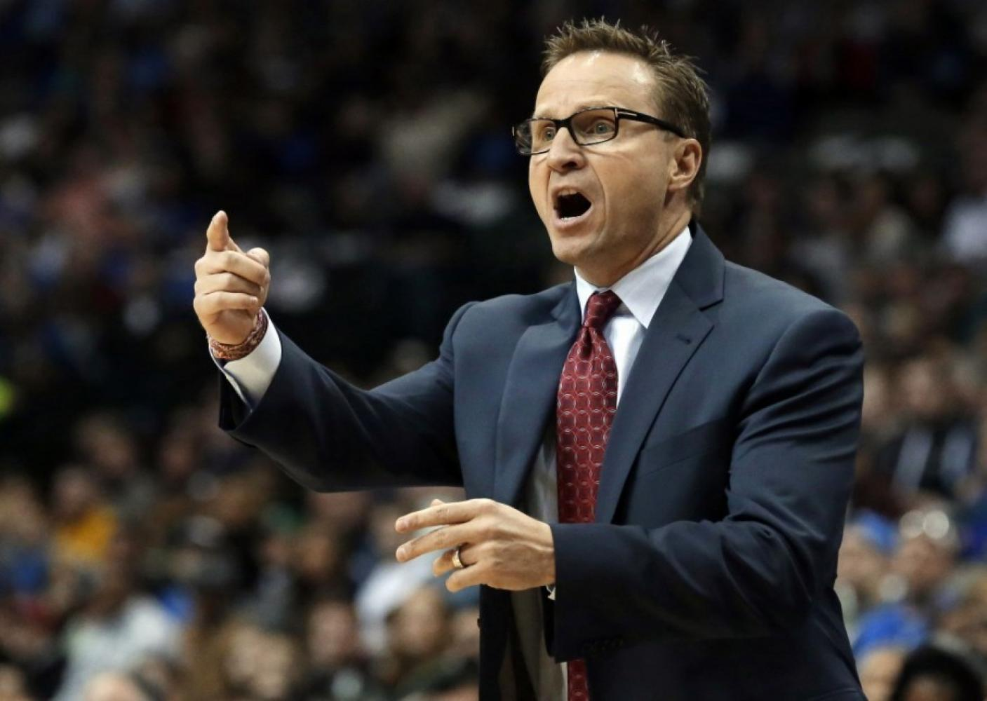 Wizards Head Coach Brooks recently joined the Wizards but his playoff experience didn't help the Wiz against the Celtics.