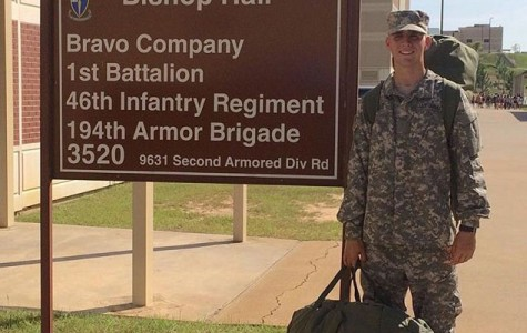 Senior spends summer at Basic Training