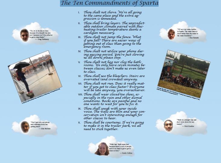 The Ten Commandments of Sparta