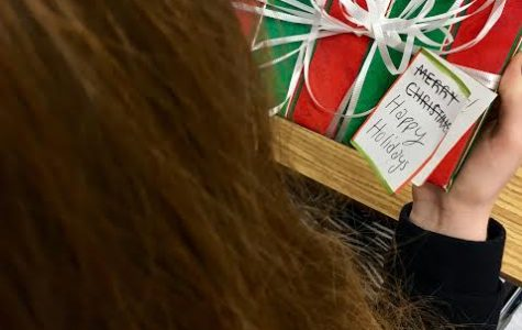 Senior Amanda LaBarge tries to be politically correct during the holiday season, replacing a