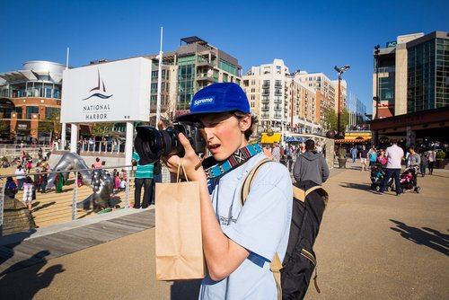 Junior Chris Muth works as a freelance photographer in the Northern Virginia and DC area.