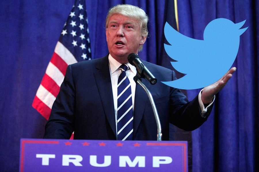 The+President+uses+Twitter+to+directly+talk+to+the+American+people.+Many+of+his+tweets+have+been+heavily+criticized.
