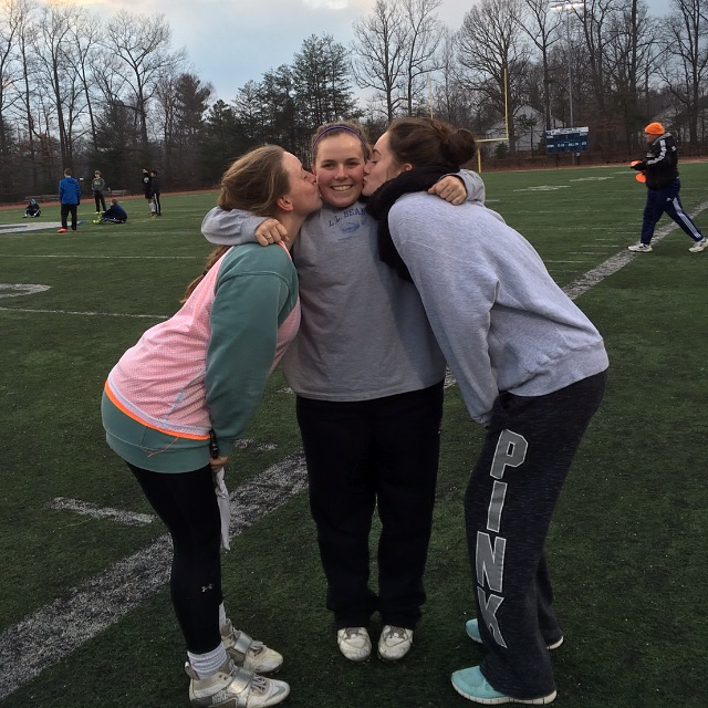 Girls' lacrosse reading to victory