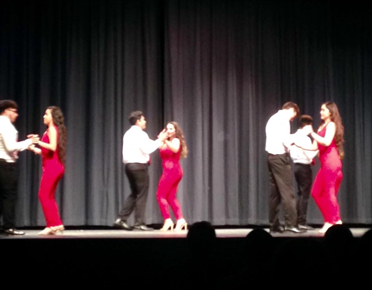 he+Hispanic+Heritage+Club+performs+their+dance+sequence%2C+titled+%E2%80%9CEl+Sabor+Latino.%E2%80%9D