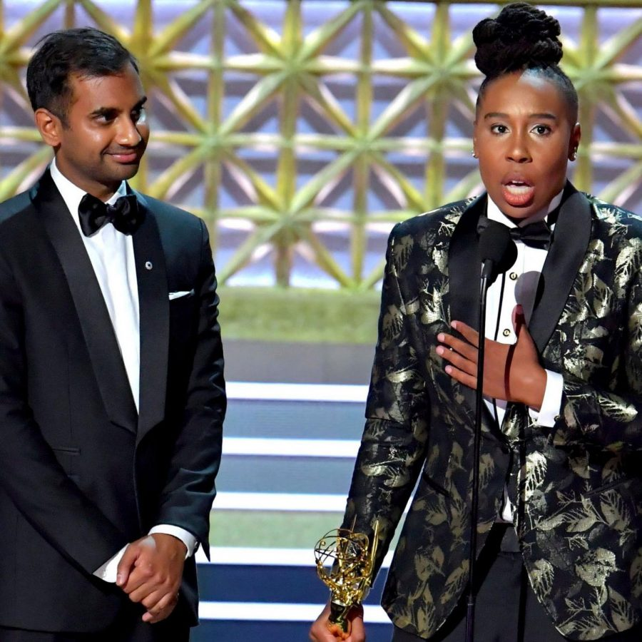 Lena+Waithe+became+the+first+African-American+woman+to+win+an+Emmy+for+Best+Writing+in+a+Comedy+Series.+She+is+an+actress+and+writer+for+the+Netflix+show%2C+Master+of+None.