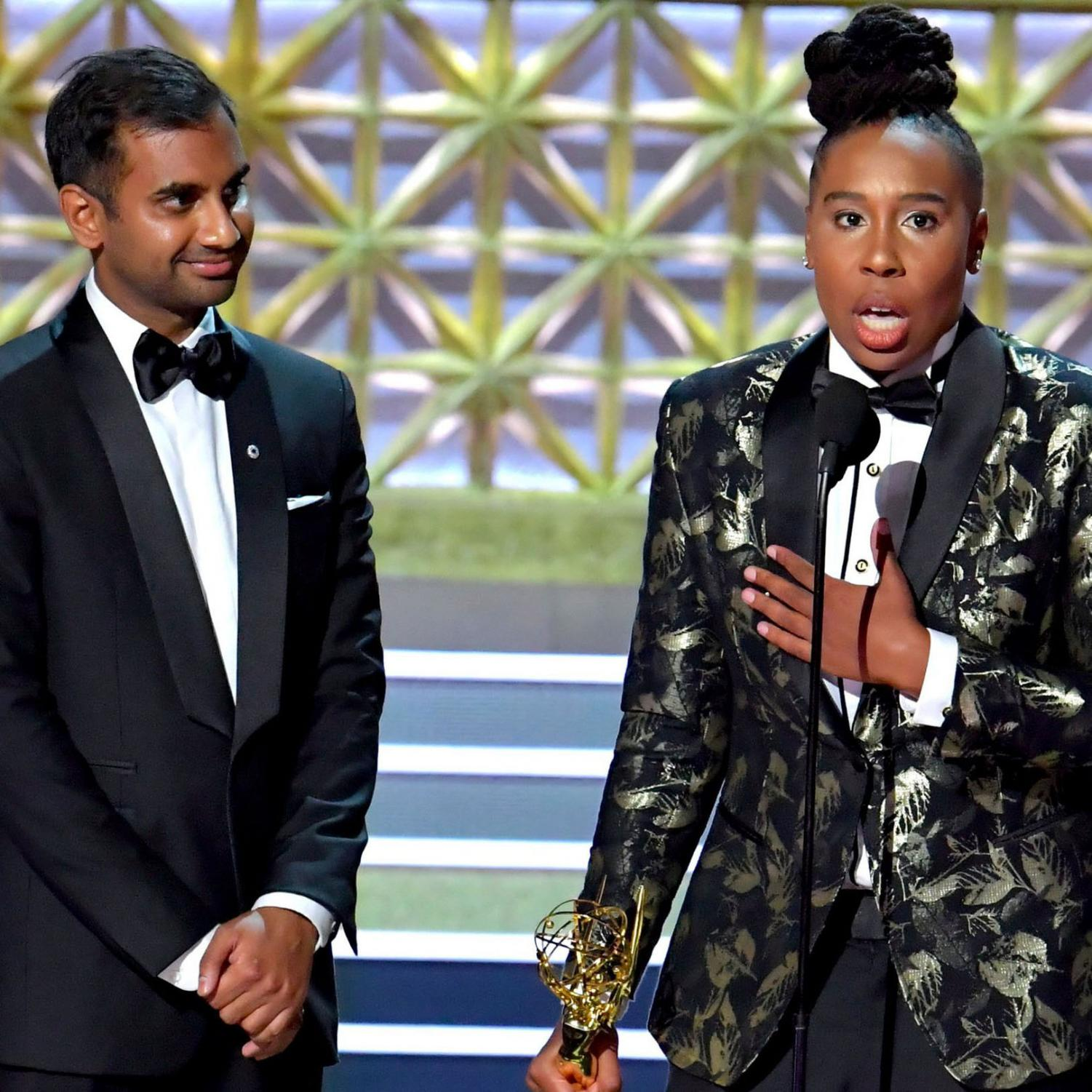 Lena Waithe became the first African-American woman to win an Emmy for Best Writing in a Comedy Series. She is an actress and writer for the Netflix show, Master of None.