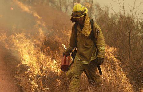Fires sweeping across California