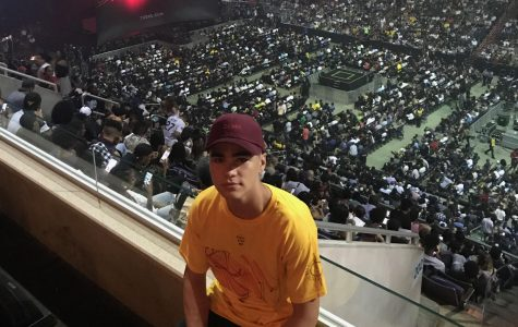 Joey Chang at the Capital One Arena seeing Kendrick Lamar