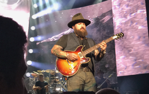 Zac Brown performs at Jiffy Lube Live.