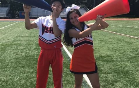 Girls aren't the only ones who cheer