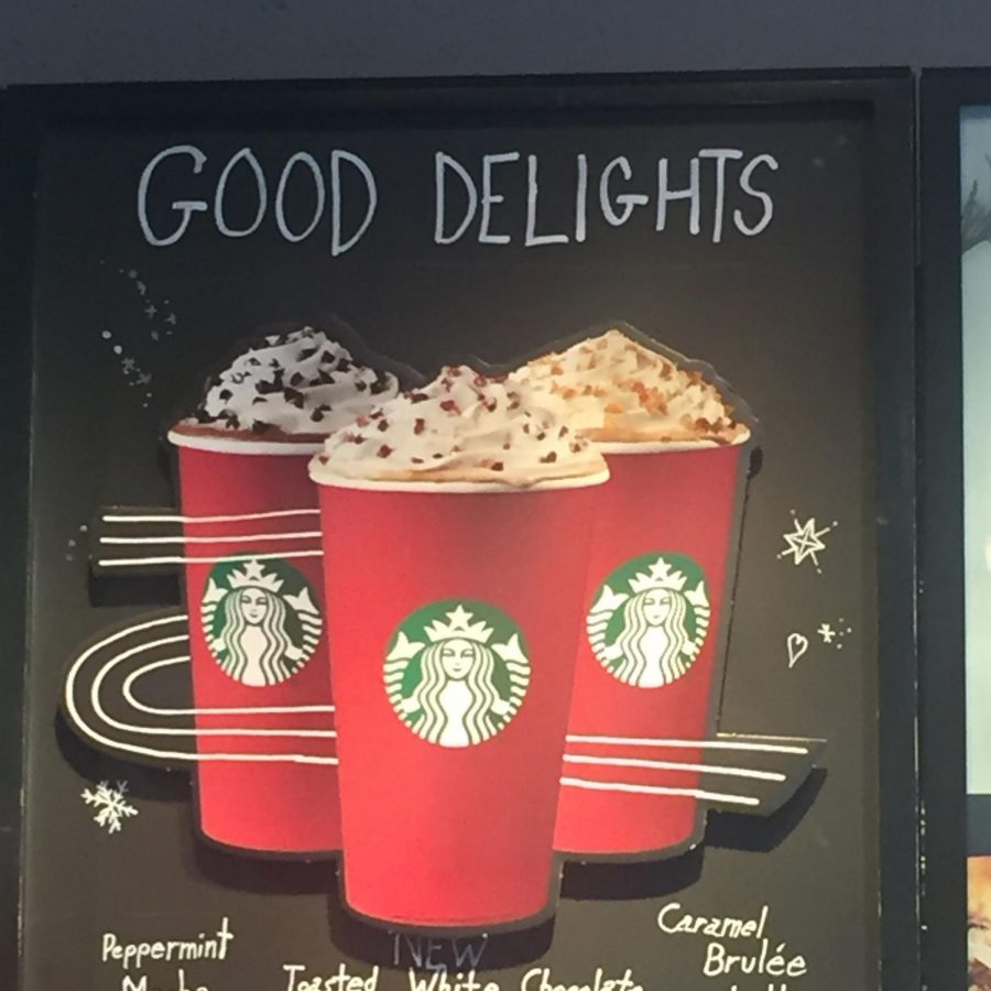 As winter approaches, coffee shops begin rolling out the seasonal drinks.