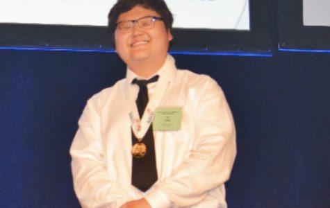 Ji Ho Choi cooks in WorldSkills
