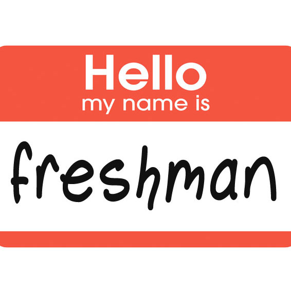 Freshman need to know their place!