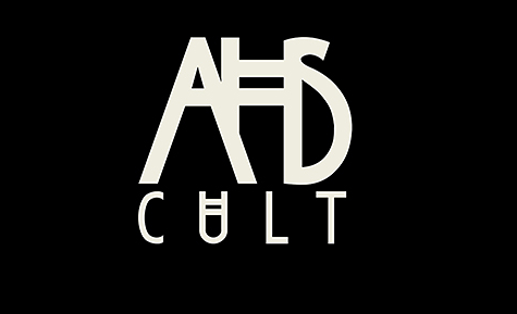 The American Horror Story cover photo for the 7th season, Cult, is similar to the typical AHS cover photo with its own special twist to fit the season's vibes