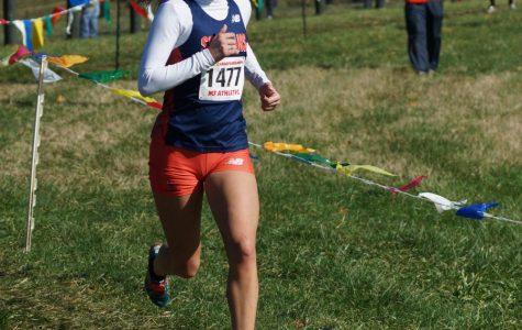 Girls' Cross Country runs into history