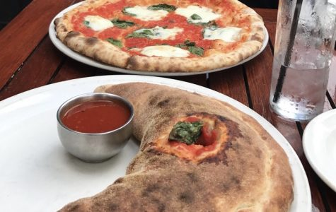 Pizza from Pizza Paradiso, located in Georgetown. Their cozy atmosphere and seasonal specials makes it great choice for lunch or dinner.