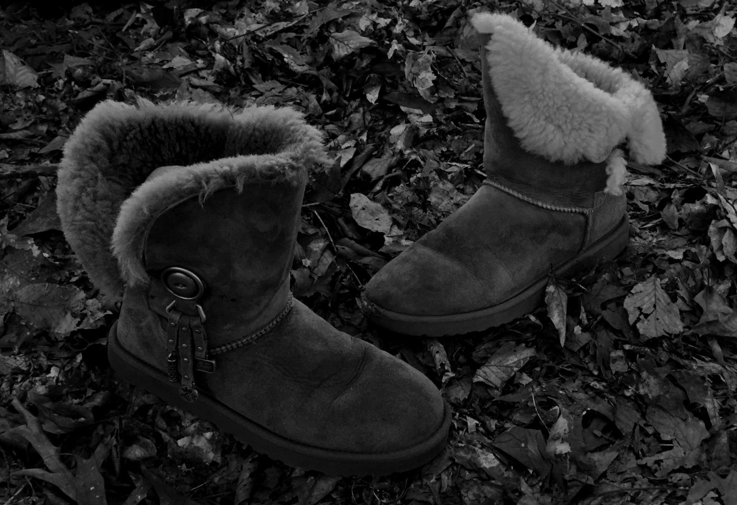 Cozy footwear such as moccasins and Ugg - style boots remain popular for fall.