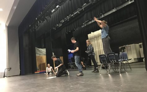 Actors and technical crew gear up for fall play
