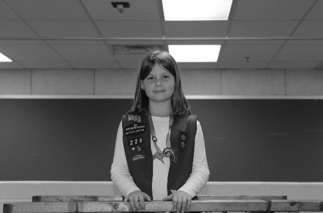 +Sophomore+Elizabeth+Breckenridge+participates+in+the+%E2%80%9Cbridge%E2%80%9D+ceremony+as+a+nine-year-old.+In+this+ceremony%2C+a+Girl+Scout+moves+from+one+level+to+a+higher+one.+Here%2C+Breckenridge+is+moving+from+%E2%80%9CBrownie%E2%80%9D+%282nd-4th+grade%29+to+%E2%80%9CJunior%E2%80%9D+status+%284th-6th+grade%29.