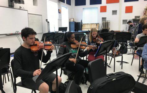 The strings behind the scenes