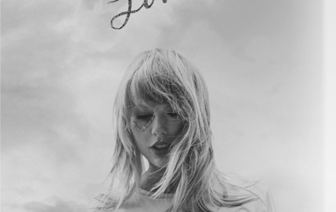 Taylor Swift's new album cover diplays the vibes of her newly released music. Though not seen in this photo, the cover is full of pastel colors, and the title Lover is pink and sparkly.
