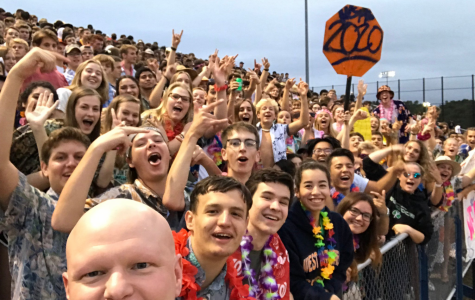 Fairfax County School Board member Ryan McElveen poses for a selfie in front of the WS student section at the Spartans' first home game of the year on September 13th. The Spartans rolled over the Lee Lancers 48-0 due in part to their new-and-improved play-calling.