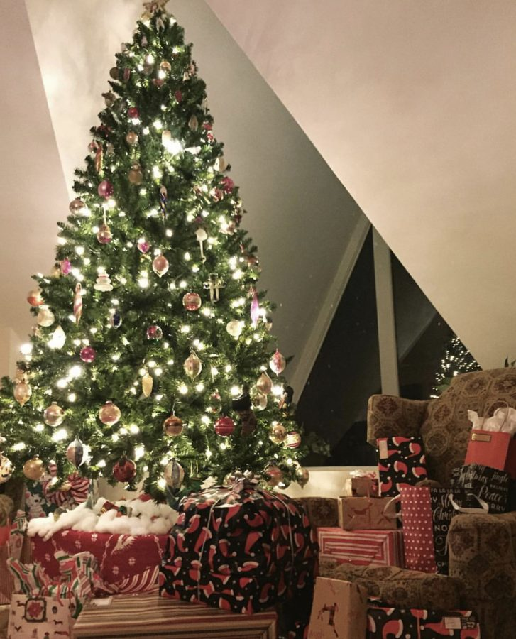 Many+families+get+into+the+holiday+spirit+by+putting+Christmas+trees+up+after+Thanksgiving%2C+or+even+after+Halloween%2C+as+well+as+going+out+to+buy+presents+for+their+families+and+friends.