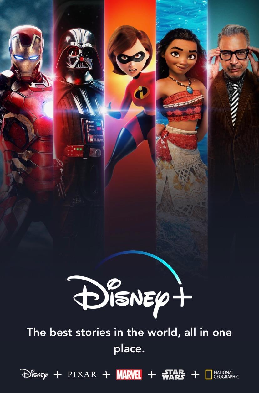 Make way for Disney+