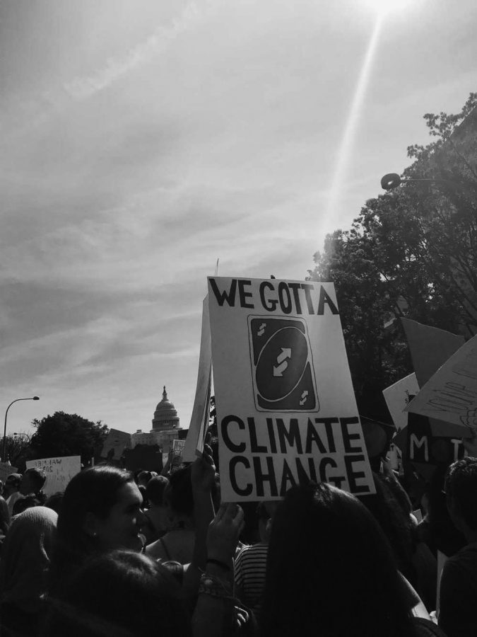 In the U.S. students are constantly participating in protests, such as the Climate Strike in DC.