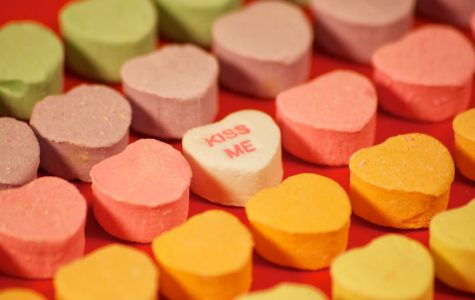 To keep up with demand, production of these famous candy hearts reach about 100,000 pounds per day for the 8 billion candies sold around the Valentine's day holiday.