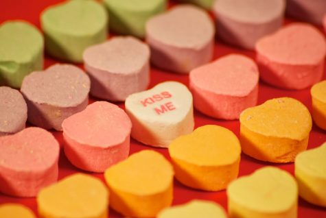 To keep up with demand, production of these famous candy hearts reach about 100,000 pounds per day for the 8 billion candies sold around the Valentine