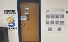 Now students are able to request a meeting with their counselor easily. Scanning the QR codes that are located all around the school will take them to a google form to request a private meeting.